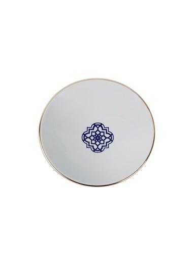 Porland Morocco Desen7 Mor Çukur Tabak 19cm Mor